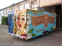 Design, Messestand, Graffitiartist, Graffitikünstler
