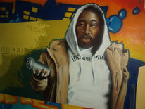 Graffiti, Wand, Mauer, Malerei