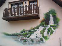 Graffiti, Wandmalerei, Graffitikünstler, Gestaltung