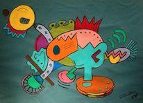 Pastellmalerei, Malerei, Tribal,