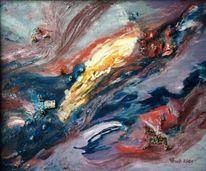 Stern, Malerei, Gehen, Explosion
