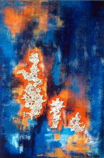 Abstrakt, Malerei, Kälte
