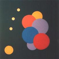 Malerei, Zyklus, Drehung, Bewegung