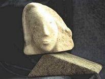 Kunsthandwerk, Speckstein, Eindruck, Stein