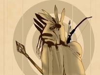 Alt, Indianer, Ur, Jäger