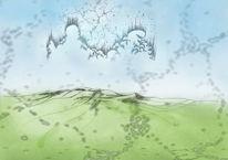 Grafik, Erde, Nebel, Natur