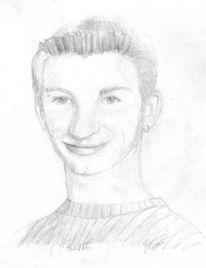 Portrait, Technik, Zeichnung, Kritik