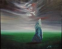 Ölmalerei, Surreal, Malerei, Nebel