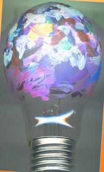 Licht, Farben, Aquarellmalerei, Weiß