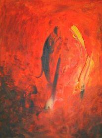 Abstrakt, Malerei, Mitte