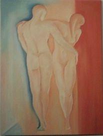 Sarstedt, Zuneigung, Ölmalerei, Malerei