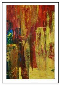 Eingeschlossen, Malerei, Warm, Neugier