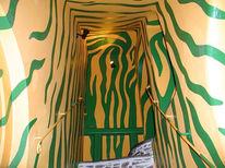 Design, Treppe, Zebra