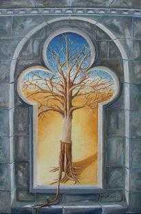 Malerei, Surreal, Glaube
