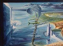 Malerei, Surreal, Osten, Nahe