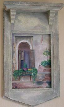 Malerei, Figural, Fenster