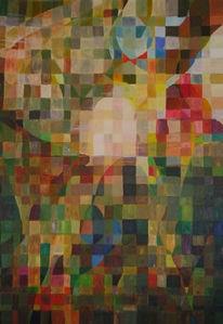 Mosaik, Mosaiktechnik, Malerei