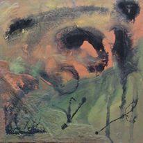 Materialbilder, Moderne kunst, Acrylmalerei, Acrylfarben