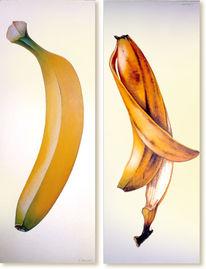 Banane, Bananenschale, Stillleben, Früchte