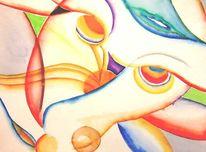 Gedanken, Fantasie, Abstrakt, Malerei