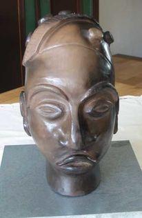 Skulptur, Figural, Afrika, Plastik