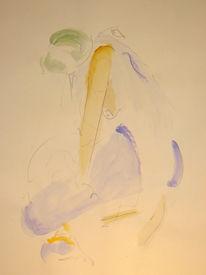 Akt, Abstrakt, Malerei