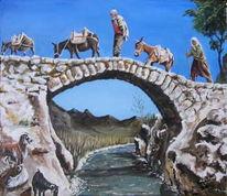 Landschaft, Anatolien, Menschen, Malerei