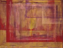 Abstrakt, Malerei, Wahrheit, Maske