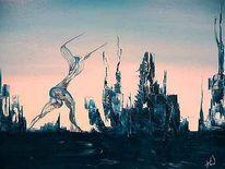 Surreal, Malerei, Europa, Sturm