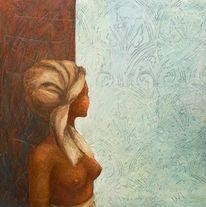 Malerei, Surreal, Engel, Figurativ