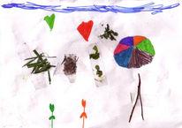 Blumen, Herz, Kraut, Kinder