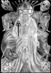 Grafik, Hohepriester, Meister, Lehrer