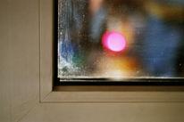Fotografie, Glasscheibe, Leuchtend, Abstrakt
