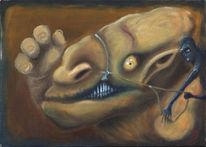 Unschuld, Malerei, Surreal, Übel