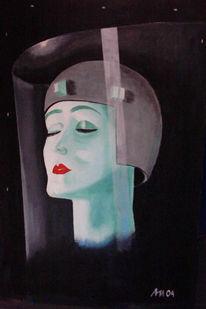 Metropole, Lang, Malerei, Film