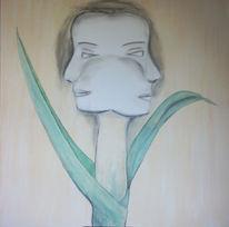 Growing, Wachsen, Malerei