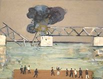 Expressionismus, Gemälde, Brücke, Impressionismus