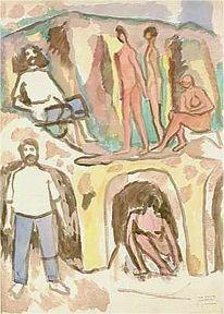 Berlin, Impressionismus, Expressionismus, Abstrakt