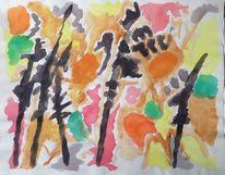 Strich, Zeichnung, 1959, Abstrakt