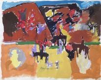 Cornelius preistrauml, Spanien, Malerei, Mutter ey