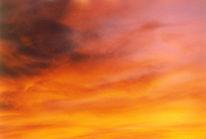 Wolken, Sonnenuntergang, Fotografie, Landschaft
