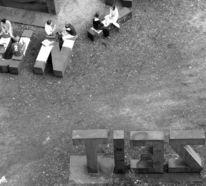 Fotografie, Menschen, Sitzen, Zeit