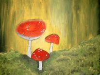 Malerei, Pilze