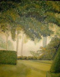 Landschaft, Malerei, Park
