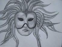 Figural, Malerei, Maske