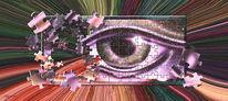 Blickpuzzle, Surreal, Digital, Digitale kunst