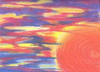 Farben, Bunt, Sonne, Durcheinander