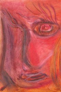 Malerei, Rot, Surreal, Zeichnungen