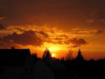 Fotografie, Sonnenuntergang, Abendrot