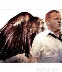 Menschen, Flügel, Junge, Engel